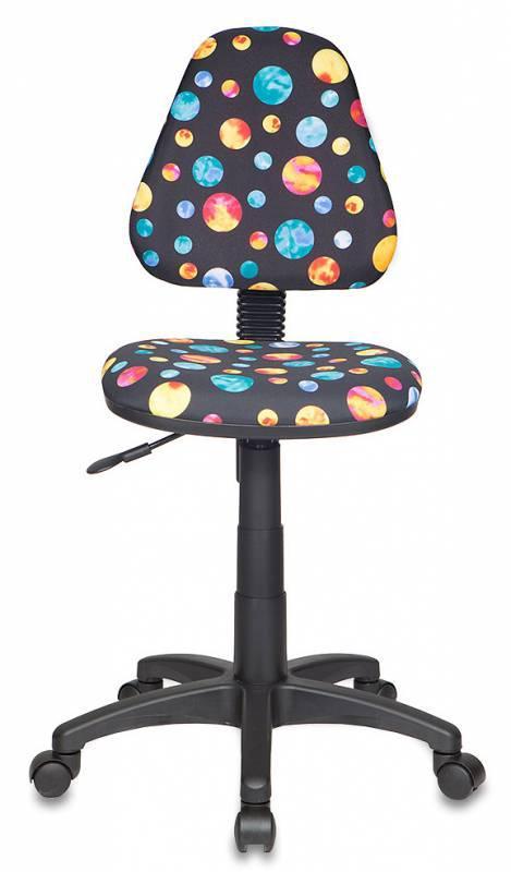 Кресло детское Бюрократ KD-4/PLANETY черный планеты planety ткань крестовина пластиковая