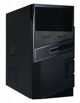 Корпус microATX Exegate BA-112 Без БП чёрный (EX251825RUS) корпус exegate ba 110 ab500 black