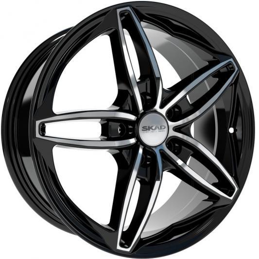 Диск Скад Турин 7x17 5x114.3 ET50 Алмаз колесные диски скад sakura 6 5х16 5х114 3 ет38 67 1 алмаз
