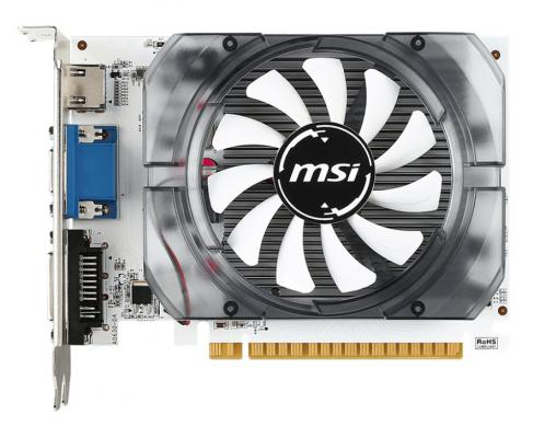 Видеокарта 4096Mb MSI GeForce GT730 PCI-E GDDR3 128bit DVI HDMI CRT HDCP N730-4GD3V2 Retail