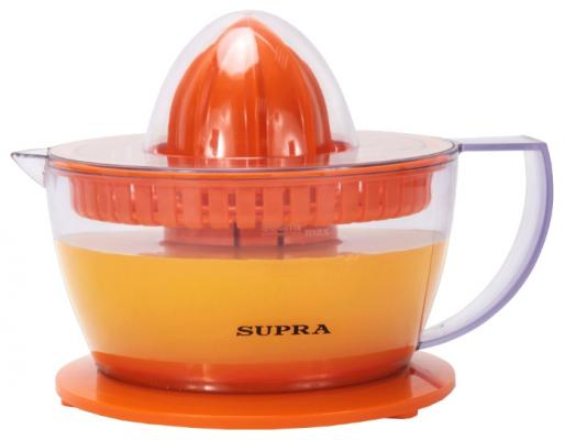 Соковыжималка Supra JES-1027 25 Вт пластик оранжевый соковыжималка supra jes 1029 40 вт пластик чёрный серебристый