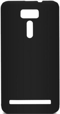Чехол Soft-Touch для Asus Zenfone 2 Laser (ZE600KL, ZE601KL) DF aSlim-12 черный чехол для asus zenfone 2 laser ze500kl ze500kg df aslim 07