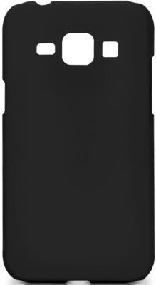 Чехол Soft-Touch для Samsung Galaxy J1 DF sSlim-19 черный