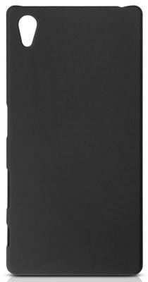 Чехол Soft-Touch для Sony Xperia Z5 DF xSlim-12 черный аксессуар чехол sony xperia e4 df xslim 02