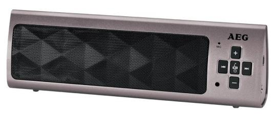 Bluetooth-аудиосистема AEG BSS 4818 titan bluetooth аудиосистема aeg bss 4827 anthracite серый