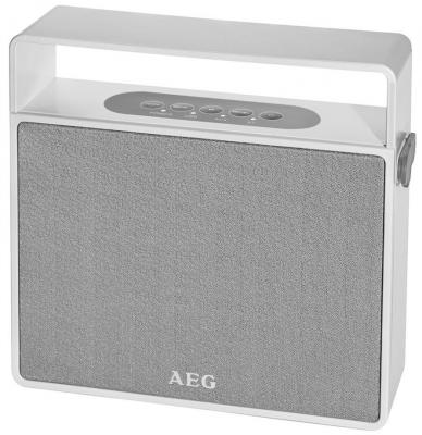Bluetooth-аудиосистема AEG BSS 4830 white aeg md 5613 white blue ирригатор