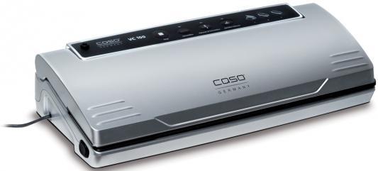 Вакуумный упаковщик CASO VC 100 вакуумный упаковщик redmond rvs m020 серебристый черный