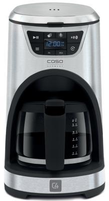 Кофеварка CASO C4 1000 Вт серебристый