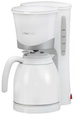 Кофеварка Clatronic KA 3327 870 Вт белый