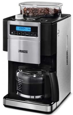 Кофеварка Princess 249402 черно-серебристый