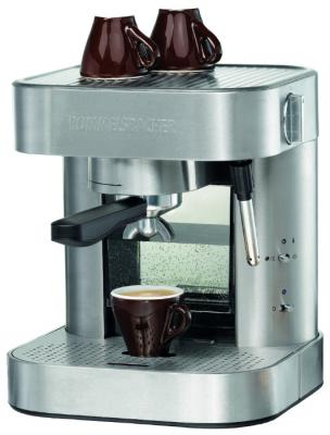 Кофеварка Rommelsbacher EKS 1500 1275 Вт серебристый