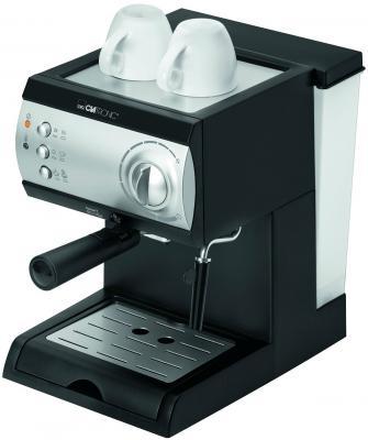 Кофемашина Clatronic ES 3584 1050 Вт черно-серебристый