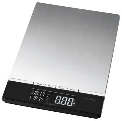 Весы кухонные Bomann KW 1421 CB серебристый