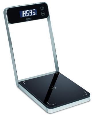 Весы кухонные CASO B 5 серебристый чёрный 3290 кухонные весы sinbo весы кухонные sinbo sks 4514 серебристый