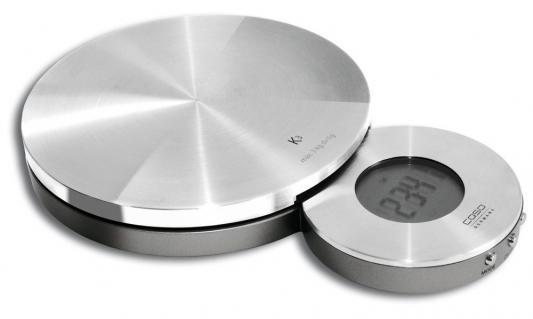 Весы кухонные CASO K 3 серебристый