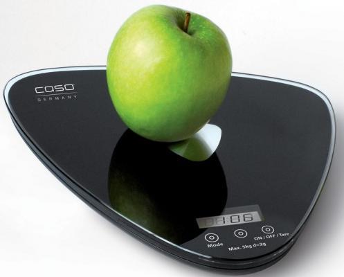 Весы кухонные CASO Q 5 чёрный