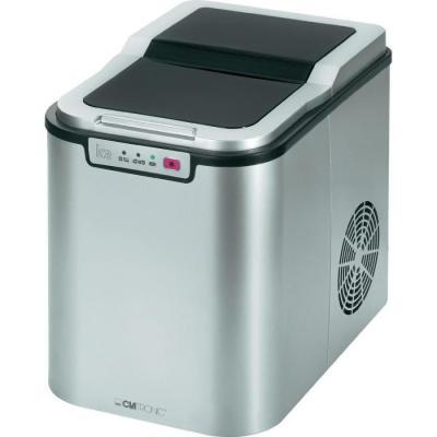 Льдогенератор Clatronic EWB 3526 silver LED серебристый кофеварка clatronic ka 3450 550 вт черно серебристый