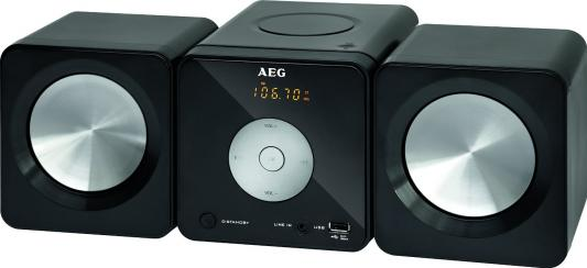 Микросистема AEG MC 4463 CD black цена
