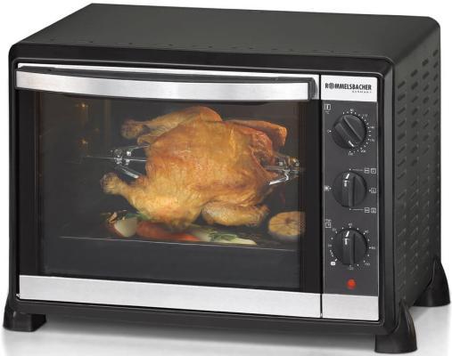 Мини-печь Rommelsbacher BG 1550 чёрный мини печь clatronic mbg 3521