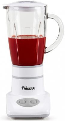 Блендер стационарный Tristar BL-4431 180Вт белый электроплитка tristar kp 6245 белый