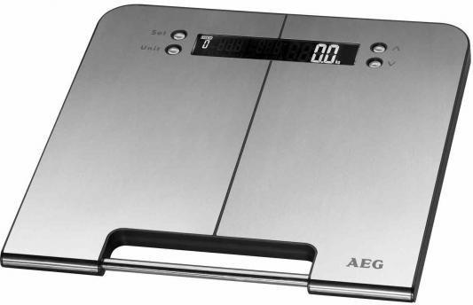 Весы напольные AEG PW 5570 FA inox 5 in 1 серебристый