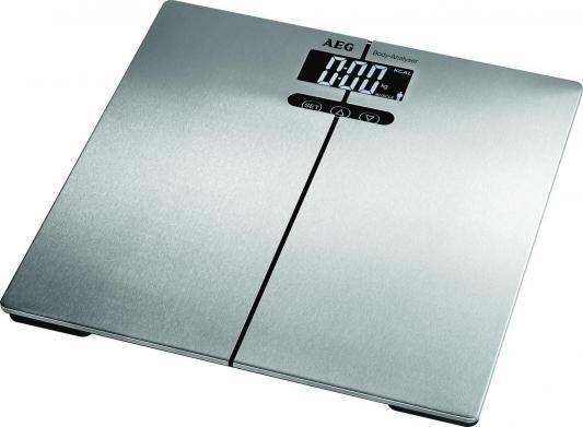 Весы напольные AEG PW 5661 FA inox серебристый весы напольные aeg pw 5653 schwarz