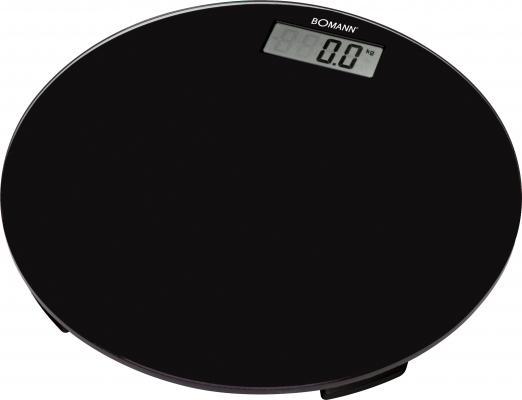 Весы напольные Bomann PW 1418 CB чёрный bomann pw 1417 cb glas напольные весы