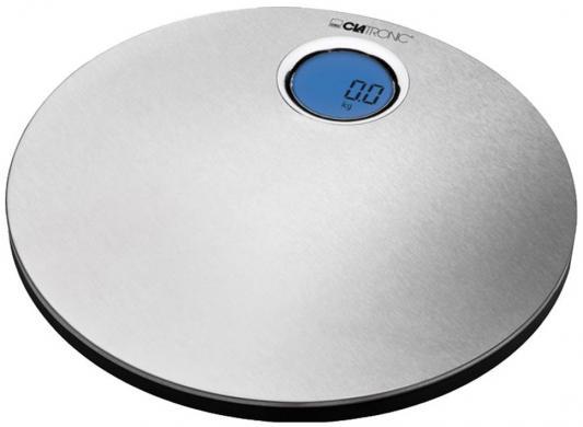 Весы напольные Clatronic PW 3370 inox серебристый