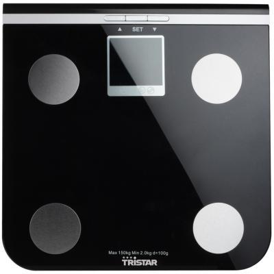 Весы напольные Tristar WG-2424 чёрный
