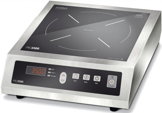 Индукционная электроплитка CASO PRO 3500 серебристый