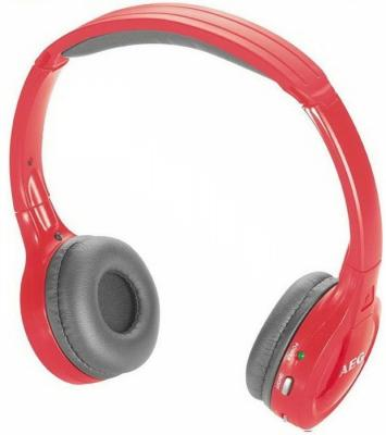 Наушники bluetooth AEG KH 4223 red BT Stereo aeg kh 4223 bt stereo red bluetooth наушники