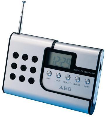 Радиоприемник AEG DRR 4107 aluminium штроборез aeg mfe 1500