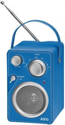 Радиоприемник AEG MR 4144 blue Aux-In