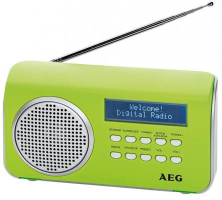 Радиоприемник портативный AEG DAB 4130 green