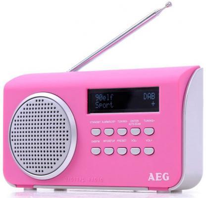 Радиоприемник портативный AEG DAB 4130 pink