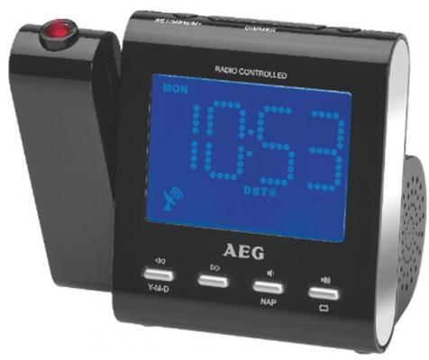 Радиочасы AEG MRC 4122 F black