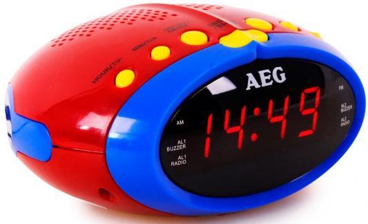 цена на Часы с радиоприёмником AEG MRC 4143 bunt