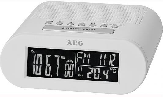 Радиочасы AEG MRC 4145 F white