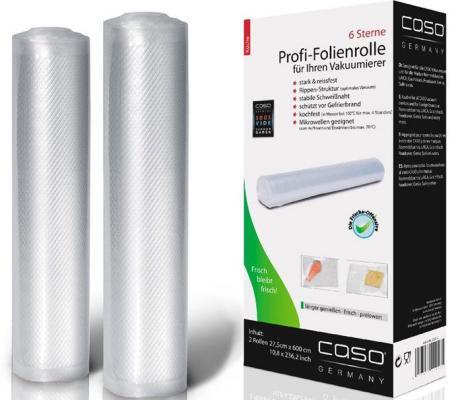Рулоны д/вак.упак. CASO VC 28*600 1223 рулоны для вакуумной упаковки caso vc 28 600