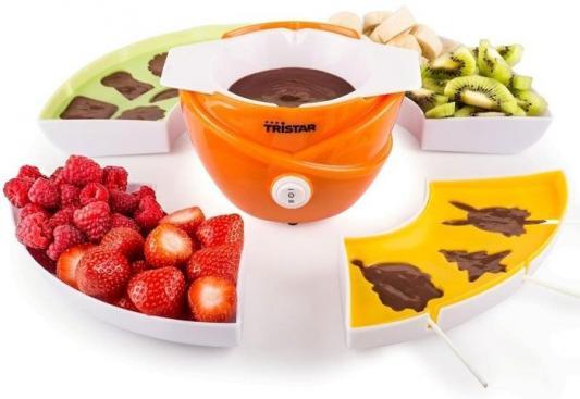 Прибор для приготовления шоколадного фондю Tristar CF-1604 оранжевый