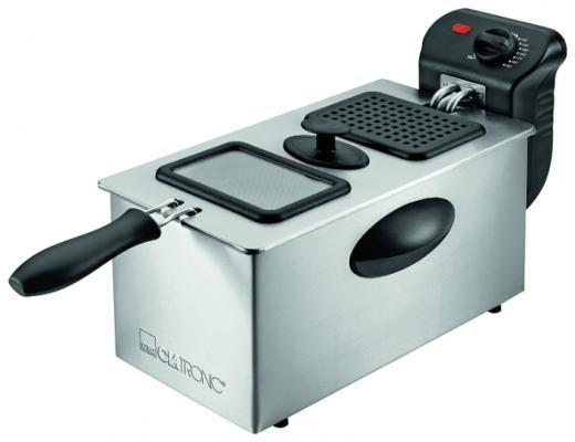 Фритюрница Clatronic FR 3587 серебристый недорого