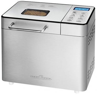 Хлебопечь Profi Cook PC-BBA 1077 серебристый хлебопечь clatronic bba 3505
