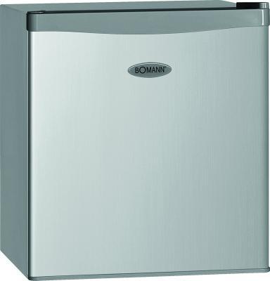Холодильник Bomann KB 389 серебристый от 123.ru