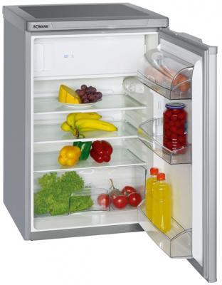 Холодильник Bomann KS 197 серебристый