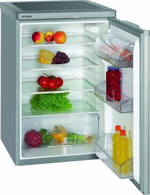 Холодильник Bomann VS 198 серебристый цена и фото