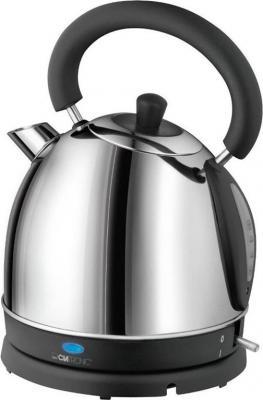 Чайник Clatronic WK 3564 1800 Вт серебристый 1.8 л нержавеющая сталь чайник clatronic wk 3501 g 2200 вт прозрачный 1 7 л металл стекло