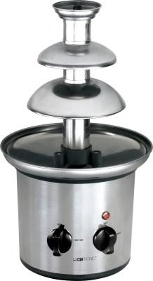 Прибор для приготовления шоколадного фондю Clatronic SKB 3248 серебристый прибор для приготовления шоколадного фондю tristar cf 1604 оранжевый