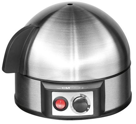 Яйцеварка Clatronic EK 3321 серебристый 400 Вт соковыжималка steba e 400 400 вт серебристый