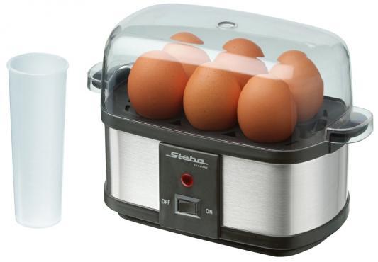 Яйцеварка Steba EK 3 plus черный серебристый 350 Вт яйцеварка steba ek 6