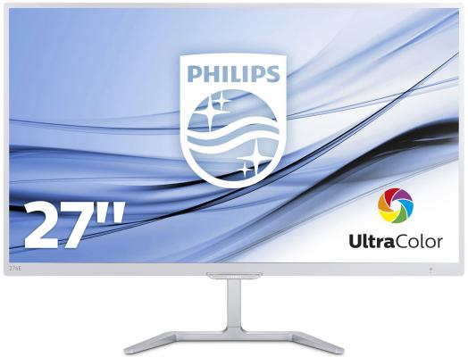 Монитор 27 Philips 276E7QDSW пароочиститель philips gc502 30